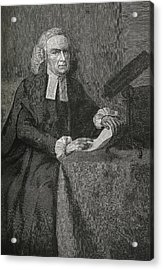 John Winthrop, Us Astronomer Acrylic Print by Science, Industry & Business Librarynew York Public Library