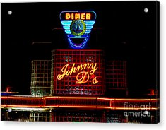 Johnny D's Acrylic Print by Guy Harnett