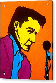 Johnny Pop IIi Acrylic Print by Pete Maier
