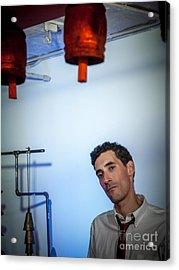 Jordan Mcclean Of Droid Acrylic Print by Jim DeLillo