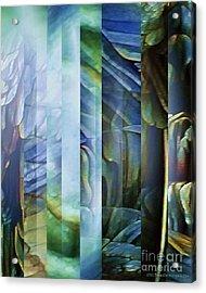Journey Inward 1 Acrylic Print by Brigetta  Margarietta