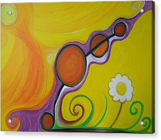Joy - The Emotion Of Great Happiness. Acrylic Print by Cory Green