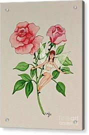 June Acrylic Print by Terri Mills