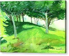 Jungle 2 Acrylic Print by Anil Nene