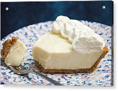 Just One Bite Of Key Lime Pie Acrylic Print by Andee Design