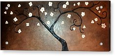 Just Thirty Two Flowers Acrylic Print by Edwin Alverio
