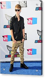 Justin Bieber At Arrivals For 2011 Vh1 Acrylic Print by Everett