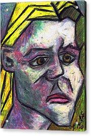 Kamila Acrylic Print by Kamil Swiatek