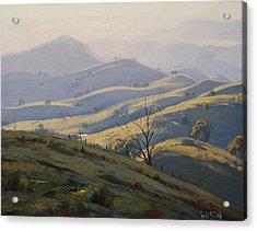 Kanimbla Valley Morning Acrylic Print by Graham Gercken