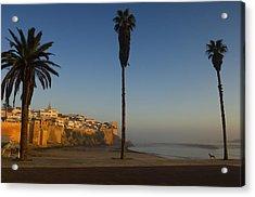 Kasbah Des Oudaias, Rabat Acrylic Print by Axiom Photographic