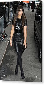 Kate Beckinsale Out And About For Kate Acrylic Print by Everett