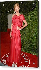 Kate Bosworth Wearing A Valentino Gown Acrylic Print by Everett