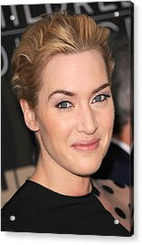 Kate Winslet At Arrivals For Mildred Acrylic Print by Everett