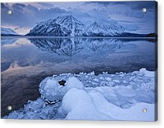 Kathleen Lake, Kluane National Park Acrylic Print by Robert Postma