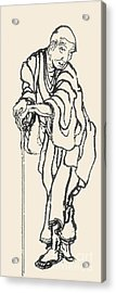 Katsushika Hokusai Acrylic Print by Granger