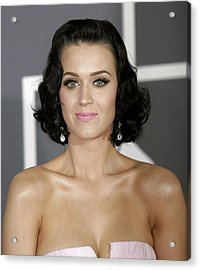 Katy Perry At Arrivals For Arrivals - Acrylic Print by Everett