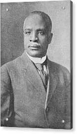 Kelly Miller, Us Mathematician Acrylic Print by Schomburg Center For Research In Black Culturenew York Public Library