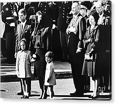 Kennedy Funeral, 1963 Acrylic Print by Granger