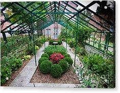 Kentlands Greenhouse Acrylic Print by Thomas Marchessault