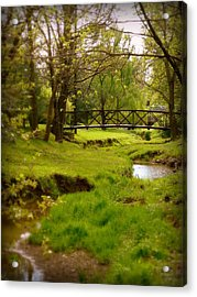 Kentucky Bridge Acrylic Print by Cindy Wright