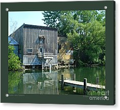 Keuka Lake Outlet-ii Acrylic Print by Patricia Overmoyer