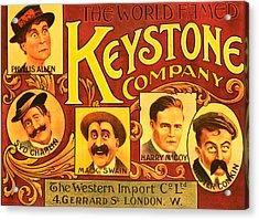 Keystone Film Company, Promotional Acrylic Print by Everett