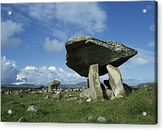 Kilclooney, Co Donegal, Ireland Dolmen Acrylic Print by The Irish Image Collection