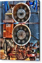 Kinetic Energy Acrylic Print by William Fields