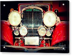 King Of The Road Acrylic Print by Susanne Van Hulst