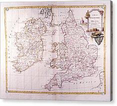 Kingdom Of England And Ireland Acrylic Print by Fototeca Storica Nazionale