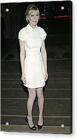 Kirsten Dunst Wearing A Miu Miu Dress Acrylic Print by Everett