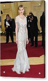 Kirsten Dunst Wearing Chanel Haute Acrylic Print by Everett
