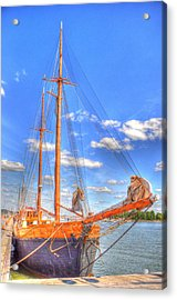 Know The Ropes Acrylic Print by Barry R Jones Jr