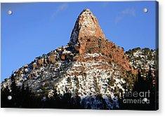 Kolob Canyon Utah Acrylic Print by Bob Christopher