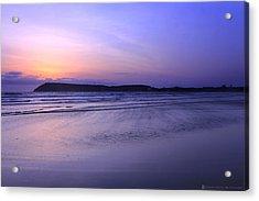 Konkan Seascape Acrylic Print by Saurabh Shenai