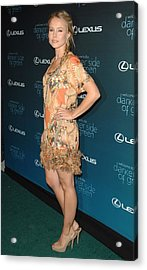 Kristen Bell At Arrivals For The Darker Acrylic Print by Everett