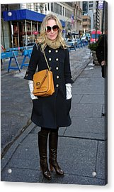 Kristen Bell Out And About For Sun Acrylic Print by Everett