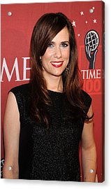 Kristen Wiig At Arrivals For Time 100 Acrylic Print by Everett