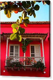 La Casa De Los Duendes Acrylic Print by Skip Hunt