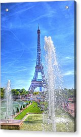 La Dame De Fer Acrylic Print by Barry R Jones Jr