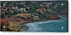 La Jolla Shores Lifestyle Acrylic Print by Russ Harris