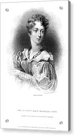 Lady Caroline Lamb Acrylic Print by Granger
