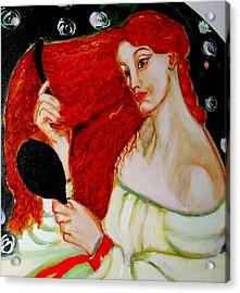 Lady Lilith Acrylic Print by Rusty Woodward Gladdish