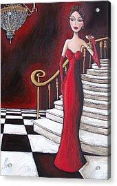 Lady Of The House Acrylic Print by Denise Daffara