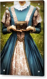 Lady With A Chest Acrylic Print by Joana Kruse
