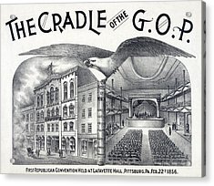 Lafayette Hall, Pittsburgh, Pa Where Acrylic Print by Everett