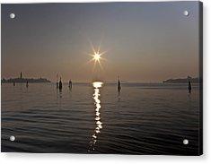 lagoon of Venice Acrylic Print by Joana Kruse