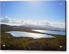 Laguna Grande  Acrylic Print by George Oze
