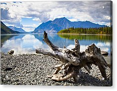 Lake Kathleen In Kluane National Park Acrylic Print by Blake Kent