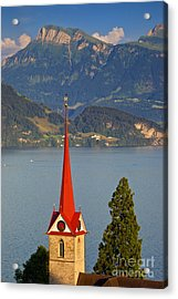 Lake Lucerne Acrylic Print by Brian Jannsen